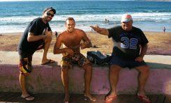 """Historias de surf. El día que """"Juanillo el Mejillón"""" dio 14 giros de 180º seguidos en su vieja tabla de surf"""