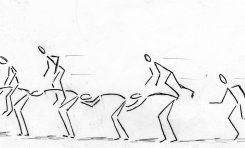 Antiguos juegos playeros (1)-Juego del Burro Manso