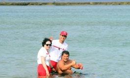 Entrevista a Eduardo Martínez. La próxima travesía a nado en Las Canteras de 2800 metros por las Fiestas de La Naval lleva su nombre