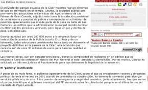 El 'parking' de la Cícer albergará un balneario y puestos de policía y Cruz Roja. ( Canarias7.es)