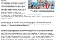 Paralizado el derribo de las casas viejas de Las Canteras ( www.laprovincia.es)