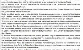 Experto cree que la Reserva Marina de El Confital tiene poco Interés Pesquero (www.abc.es).