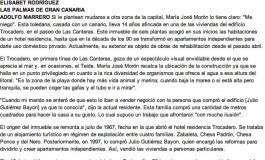 El Trocadero, espejo del entorno ( laprovincia.es).