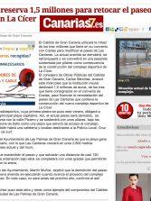 El paseo de Las Canteras tendrá un tramo sustentado con pilares (www.canarias7.es)
