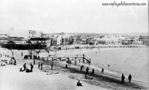 la playa en los años 20