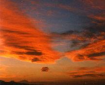 Cielo rojo