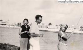 Pescando desde la Barra-Colecc. MªElena Armas