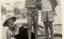 Maruca Riutort, hija y Chary