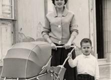 Mª Elena Armas con Zalo