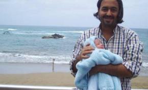 Alexis y su hijo Miguel