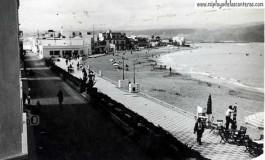 Vista de la playa con marea llena 1938-colecc.Esther Suárez