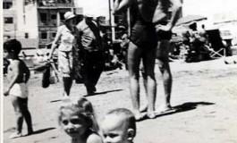 Gustavo Adolfo Delgado y su prima Ana Berta en el 69