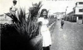 Esther Suárez en la C/Sagasta en el 46