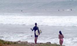 Las olas continuaran en nuestra bahía