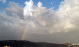 Mañana de arco iris