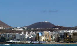 Azul tras La Isleta