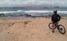Recorriendo la bahía en bicicleta