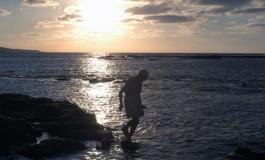 Mariscando en una maravillosa tarde de mayo