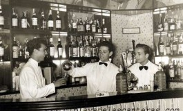 Interior del Bar Chipén, local que estaba en La Puntilla en el año 1959-  colecc. Manolo Martín Paiz