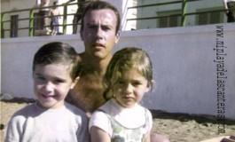 Totoyo Millares con su hijo Yuri y su sobrina Eva- colecc. Yuri Millares