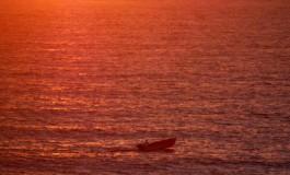 Mar en rojo pasión