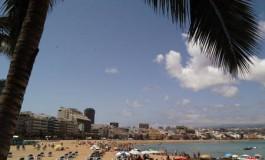Después de hacer la foto me voy al agua, que calor¡¡¡¡  me encantaría verte…..