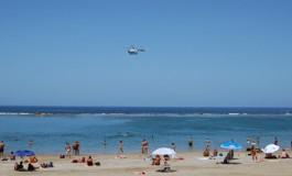Sobrevolando la mejor playa del mundo, todo un privilegio