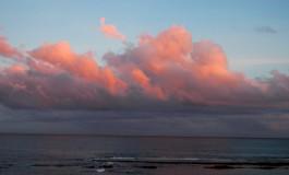 Nubes de otoño, el cielo recupera la luz y los colores mágicos
