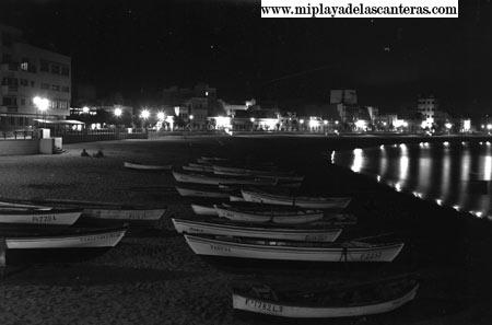 Noche en Las Canteras-sobre 1955-.