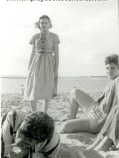 Ser player@, de la Playa de Las Canteras. Elena Armas: Mi casa estaba situada frente al Charcón, el sitio más bonito de la playa