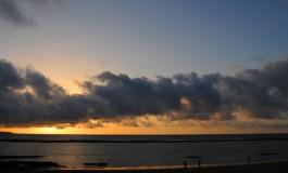 Ocaso desde Playa Chica.