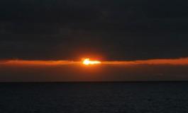 El último suspiro solar.