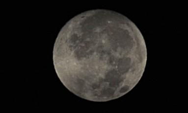 La luna llena de agosto.
