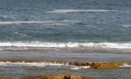 La espuma del reboso, hoy estará mejor la marea.