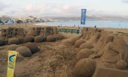 El Granca arenoso está al completo, este viernes a las 8:30 h. el equipo se presentara con algo de espectáculo en la playa.