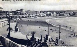 Playa de Las Canteras 1945.