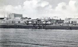La playa de Las Canteras desde La Barra Grande 1934