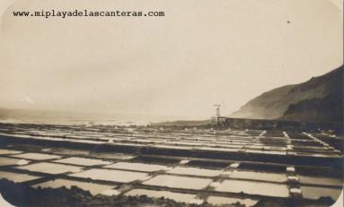 Antiguas Salinas de El Confital.