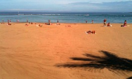 Las Canteras, una playa magnifica.