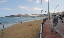 Desde la curva de Punta Brava.