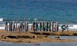 Sobre la Barra Grande: TVCanaria en huelga.