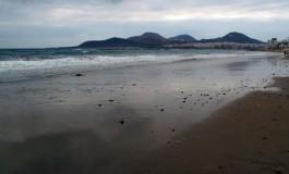 Nubes por La Isleta.