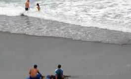Descansando del trajín de la olas.