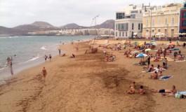 La Playa Chica a la hora de la siesta.