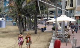 Buena temperatura de playa.