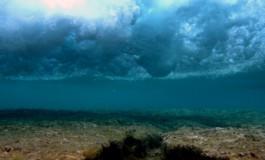 Olas sobre el  Arrecife ( Foto: Sara Acosta).