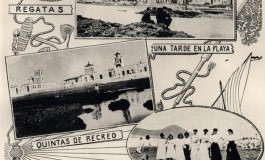 Poster de la playa de Las Canteras, 1910.