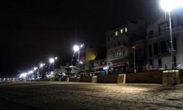 Playa nocturna.