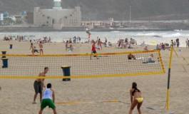 Playa deportiva.