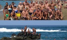 Este domingo se celebró la histórica travesía a nado: La Puntilla- Peña la Vieja